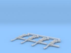 1/12 MP-38 submachine guns in Smooth Fine Detail Plastic