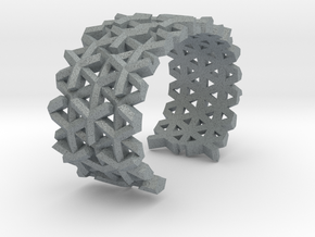 Parametric Bracelet in Polished Metallic Plastic