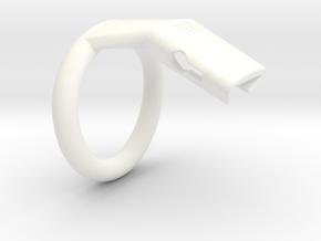 Q4-T135-12 in White Processed Versatile Plastic