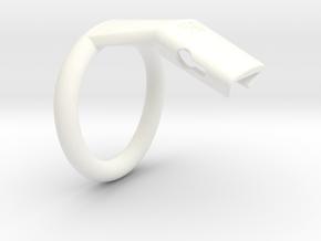 Q4-T150-15 in White Processed Versatile Plastic