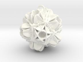 Valdrada -Pendant- in White Processed Versatile Plastic