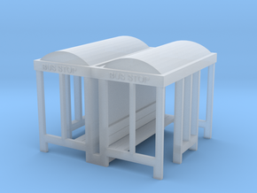 Bus Stop - N 160:1 Scale Qty (2) in Frosted Ultra Detail