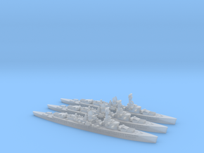 Lutzow (Deutschland class) 1/3000 in Smooth Fine Detail Plastic