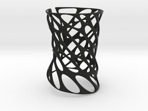 Armband (Size M) in Black Natural Versatile Plastic