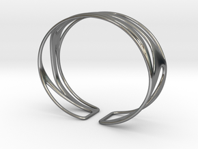 Inspired Curves size M in Polished Silver