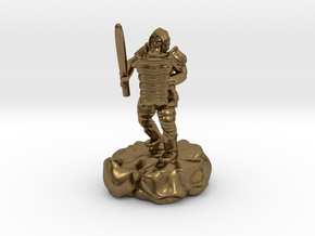 Hill Dwarf Figher in Natural Bronze