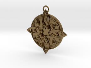 Amulat of Mara - NO GEM in Polished Bronze