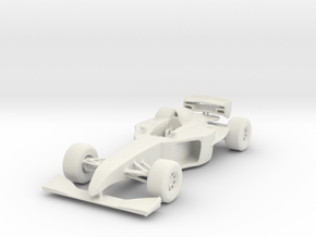 Formula Car in White Strong & Flexible