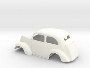 1/24 1949 Anglia Full Body Slammer in White Processed Versatile Plastic