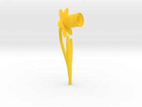 Daffodil Rev05 in Yellow Strong & Flexible Polished