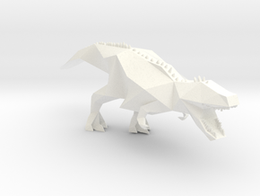 Trex Dino in White Strong & Flexible Polished