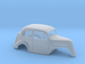 1/64 1949 Anglia No Fr Fenders in Smooth Fine Detail Plastic