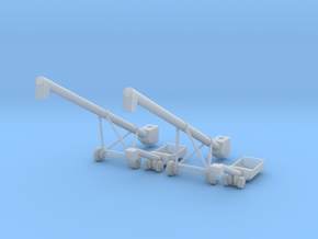 MK100x40 Truck Loader Auger N Scale in Smooth Fine Detail Plastic
