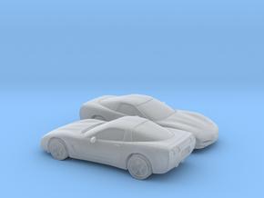 1/160 2X 1997-2004 Chevrolet Corvette C5 in Smooth Fine Detail Plastic