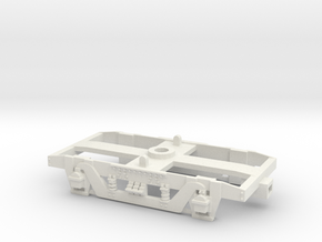 GW 9' American Bogie Hornby/Airfix  Fit in White Natural Versatile Plastic