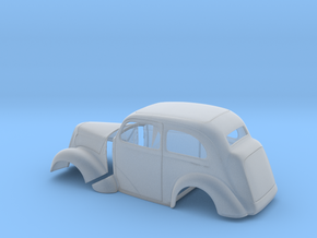 1/24 1949 Anglia Full Body Tilt Front in Smooth Fine Detail Plastic
