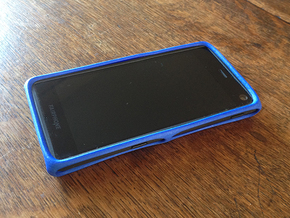 Bumper Case for Fairphone 2 in Blue Strong & Flexible Polished