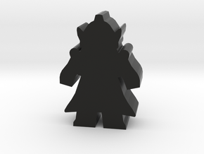 Game Piece, Mutant Lord With Cape in Black Natural Versatile Plastic