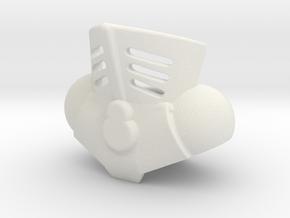 Extendar in White Natural Versatile Plastic