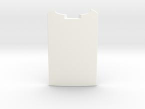 Stingray Ramp in White Processed Versatile Plastic