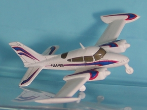 Cessna 310 - Nscale in Smooth Fine Detail Plastic