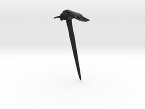 Haarstab 01 in Black Strong & Flexible