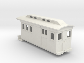HOn30/OO9 Doodlebug/Railmotor (Megan 1) in White Natural Versatile Plastic