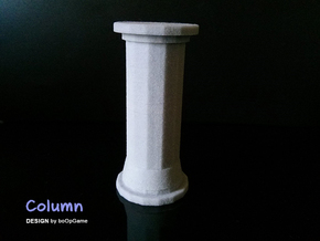 Column in Full Color Sandstone