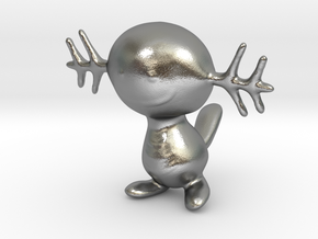 Wooper in Natural Silver