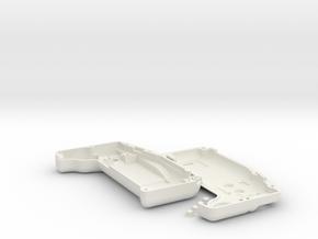 The Munkey V1 in White Natural Versatile Plastic