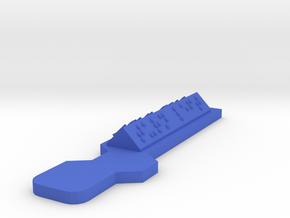 Hour of Code : Action-Turn Left in Blue Processed Versatile Plastic