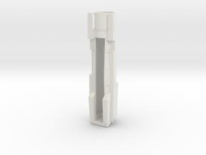 PRR K4/L1 S Scale Boiler - Open smoke box in White Natural Versatile Plastic