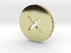 Wolfring coin in 18k Gold