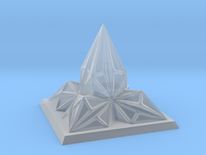 Pyramid Arcology in Smooth Fine Detail Plastic