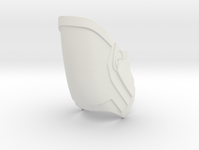 Knee Gaurd Inner in White Natural Versatile Plastic