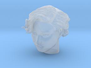 Adriana Lima Female Model Head Sculpt in Smooth Fine Detail Plastic