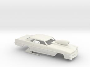 1/25 66 Nova Pro Mod Small Wheelwells in White Strong & Flexible