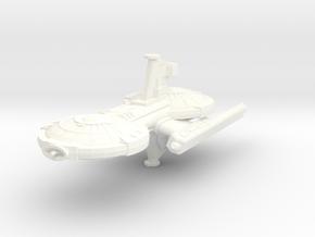 Ghorn Strike Frigate in White Processed Versatile Plastic
