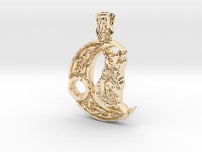 Kitty Keltic in 14k Gold Plated Brass