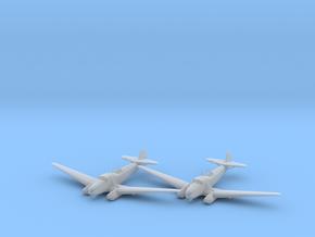 Focke-Wulf Fw.58B 'Weihe' 1:200 x2 FUD in Smooth Fine Detail Plastic
