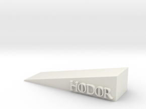 Hodor in White Natural Versatile Plastic