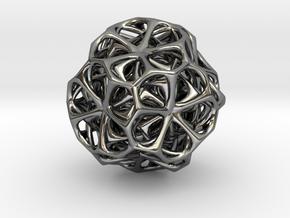 Dodéca flower in Fine Detail Polished Silver