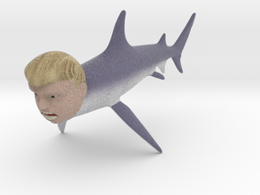 The Donald Shark in Full Color Sandstone