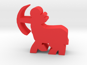 Game Piece, Centaur Archer in Red Strong & Flexible Polished