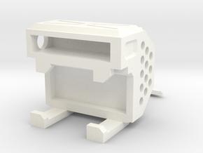 CW: Vortex kit in White Processed Versatile Plastic
