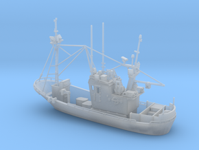 Fishingboat 01. 1:144 Scale in Smooth Fine Detail Plastic