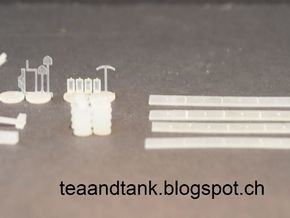 1/144 Panther Addon Set  in Smooth Fine Detail Plastic
