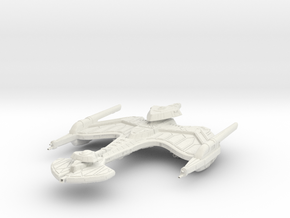 Neghvar Class VI  HvyBattleCruiser in White Strong & Flexible