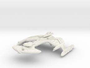 Ro'cha  Class BattleShip in White Strong & Flexible