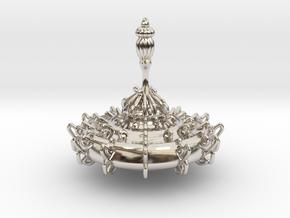 Ornate Top in Platinum